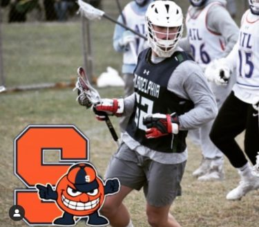 Aidan Kelly from Conestoga Player Profile by LaxRecords.com